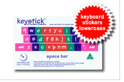 Phonics Alive Keyboard Stickers