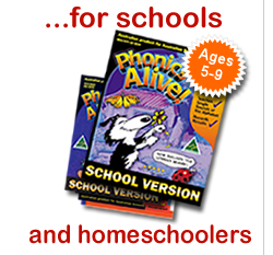Phonics Alive for Schools and Homeschoolers